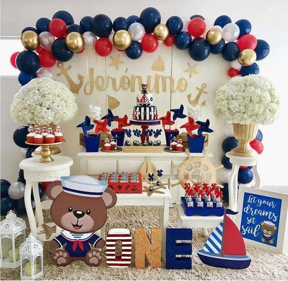 Ideas para celebrar el primer año niño