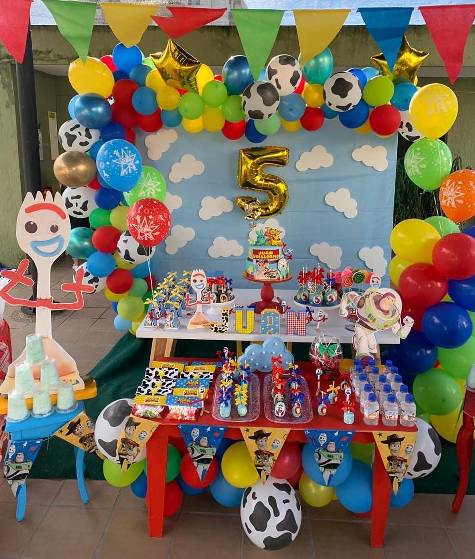 ideas para una fiesta tematica de toy story 4