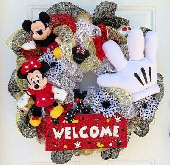 ideas para decorar una navidad con mickey mouse