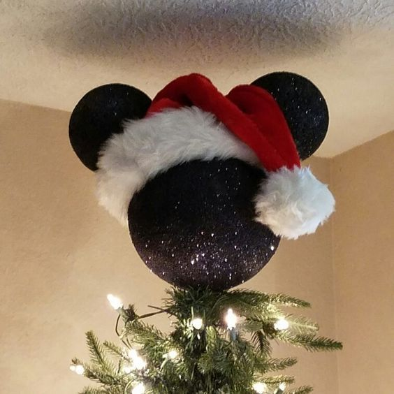 manualidades para navidad de mickey mouse