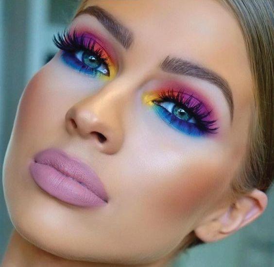 maquillaje neon como hacerlo para que quede perfecto