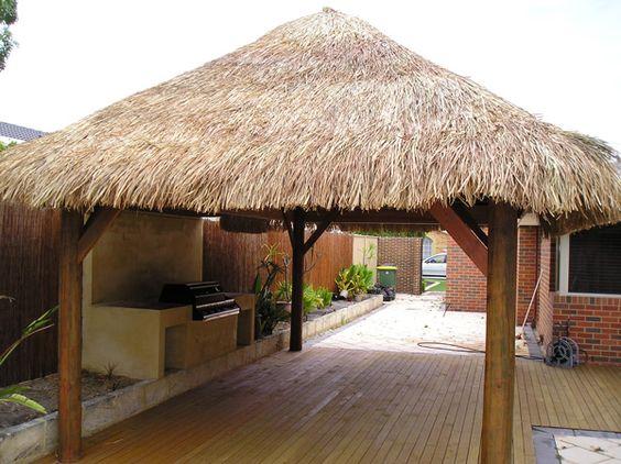 palapas de palma para jardin