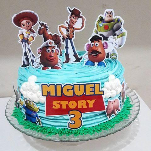 pasteles para cumpleaños de toy story 4