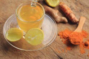 curcuma limon y jengibre para bajar la pansa