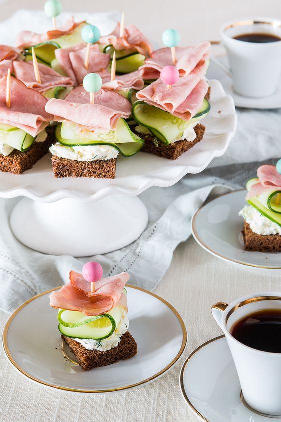 recetas de cosas saladas para el te