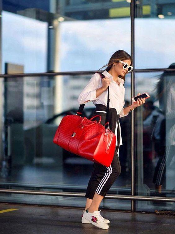 ropa para viajar en avion mujer 2019