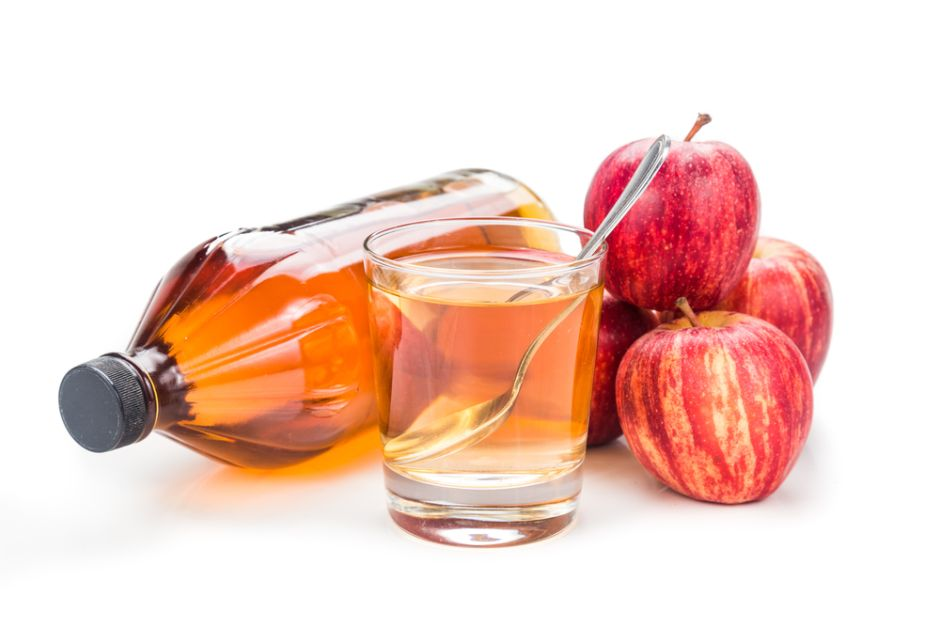 shot de vinagre de manzana para bajar la pansa