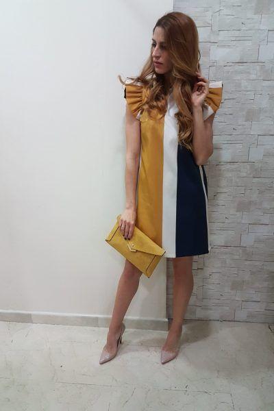 vestidos flojos para disimular la pansita