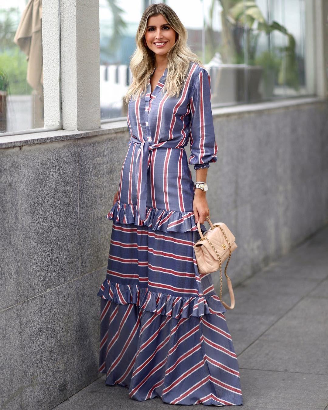 vestidos para disimular la lonja con rayas verticales