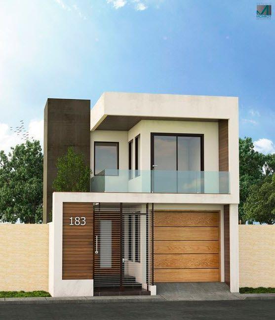 materiales para fachadas de casas modernas