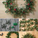 Manualidades navideñas con material reciclado