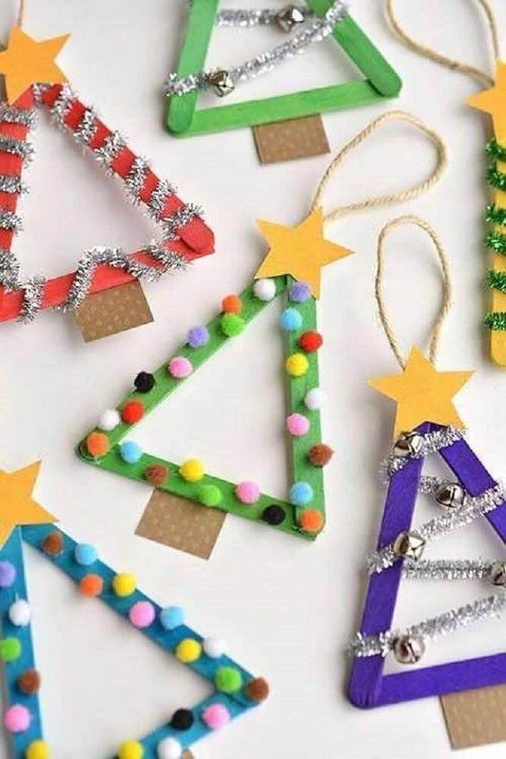 Opciones de manualidades navideñas para niños